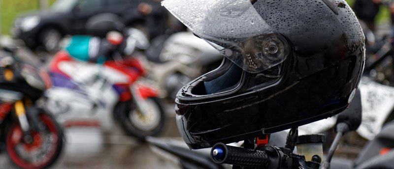 Motorcycle helmet (biker safety tips)